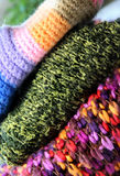 Woolen background Royalty Free Stock Images