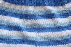 Woolen bakgrund Arkivfoto