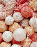 Woolen balls Royalty Free Stock Photos
