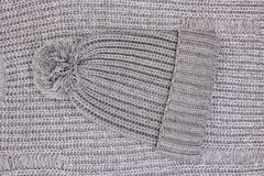 Woolen Beanie lizenzfreies stockbild