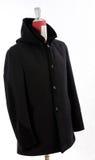Woolen black coat Royalty Free Stock Photo