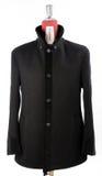Woolen black coat Royalty Free Stock Photos