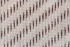 Woolen blanket. Striped woolen blanket in gray and brown colors stock photography