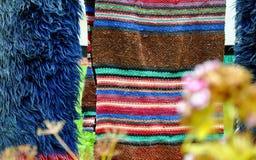 Woolen blankets Stock Images