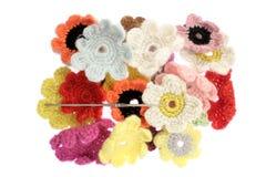 woolen blomma Royaltyfri Fotografi
