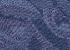 Woolen blue texture. Royalty Free Stock Photo