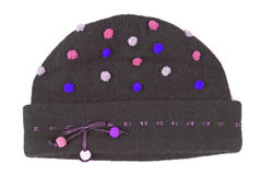 Woolen cap Royalty Free Stock Image