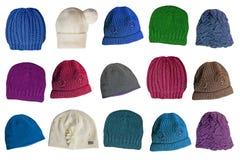 Woolen caps Stock Image