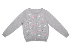 Woolen children blouse Stock Photos