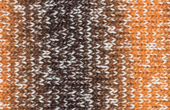 Woolen cloth, crocheted fabric texture background. Stock Photography