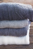 Woolen clothes Royalty Free Stock Images