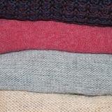 woolen clothing Arkivfoton