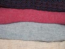 woolen clothing Arkivbilder