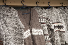 Woolen cloths Stock Photography