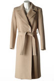 Woolen coat royalty free stock photography