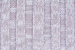 Woolen dekorativ tygtexturbakgrund, slut upp Arkivfoto