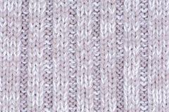 Woolen dekorativer Gewebebeschaffenheitshintergrund, Abschluss oben Lizenzfreies Stockbild