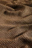 Woolen fabric brown Royalty Free Stock Photos
