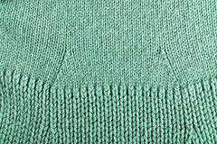 Woolen fabric green Royalty Free Stock Images