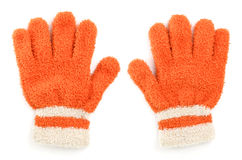 Woolen glove royalty free stock images