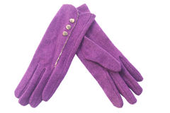 Woolen gloves Stock Images