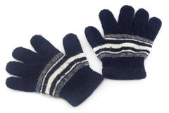 Woolen gloves Royalty Free Stock Images
