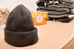 Woolen hood Royalty Free Stock Photo