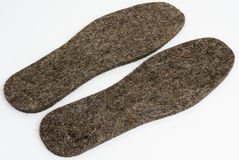 Woolen insoles Royalty Free Stock Images