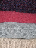 Woolen Kleidung lizenzfreie stockfotos
