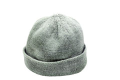 Woolen knitted cap Royalty Free Stock Photos