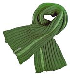 Woolen knitted scarf Stock Image
