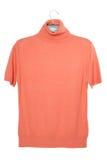 Woolen orange blouse Stock Photo