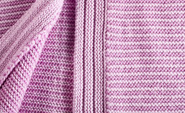 Woolen pink sweater Royalty Free Stock Photography