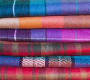 Woolen plaids Royalty Free Stock Photography