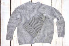 Woolen Pullover lizenzfreies stockfoto