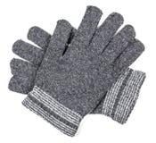Woolen rękawiczki odizolowywać obraz stock