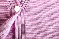 Woolen rosa tröja royaltyfri foto