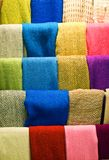 Woolen scarves Stock Images