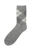 Woolen sock Royalty Free Stock Photography