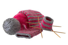 Woolen sock Stock Images