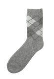 woolen socka Royaltyfri Fotografi