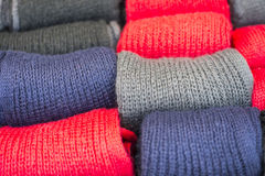 Woolen Socks Stock Photo