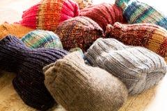 Woolen Socks Stock Photos