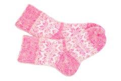 Woolen socks Royalty Free Stock Photo