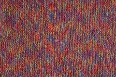 Woolen tekstury tło, trykotowa wełny tkanina, kosmata tkanina Obrazy Royalty Free