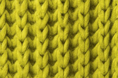 Woolen tekstury tło, trykotowa wełny tkanina, zielony kosmaty fluf Zdjęcie Royalty Free