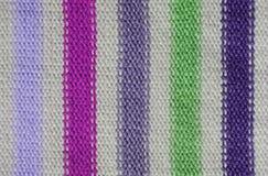 woolen textur för pink för bakgrundstygrät maska Royaltyfria Foton