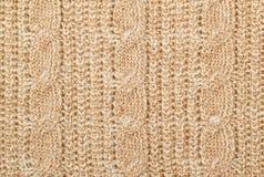 Woolen textur för rät maska arkivbild
