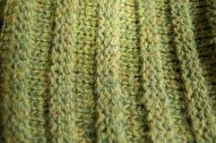 Woolen texturbakgrund, stuckit ulltyg, hårig fluf för gräsplan Royaltyfri Fotografi