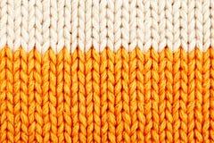 Woolen texture Stock Image